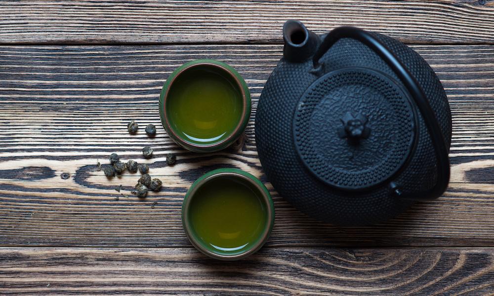 Tea courgette