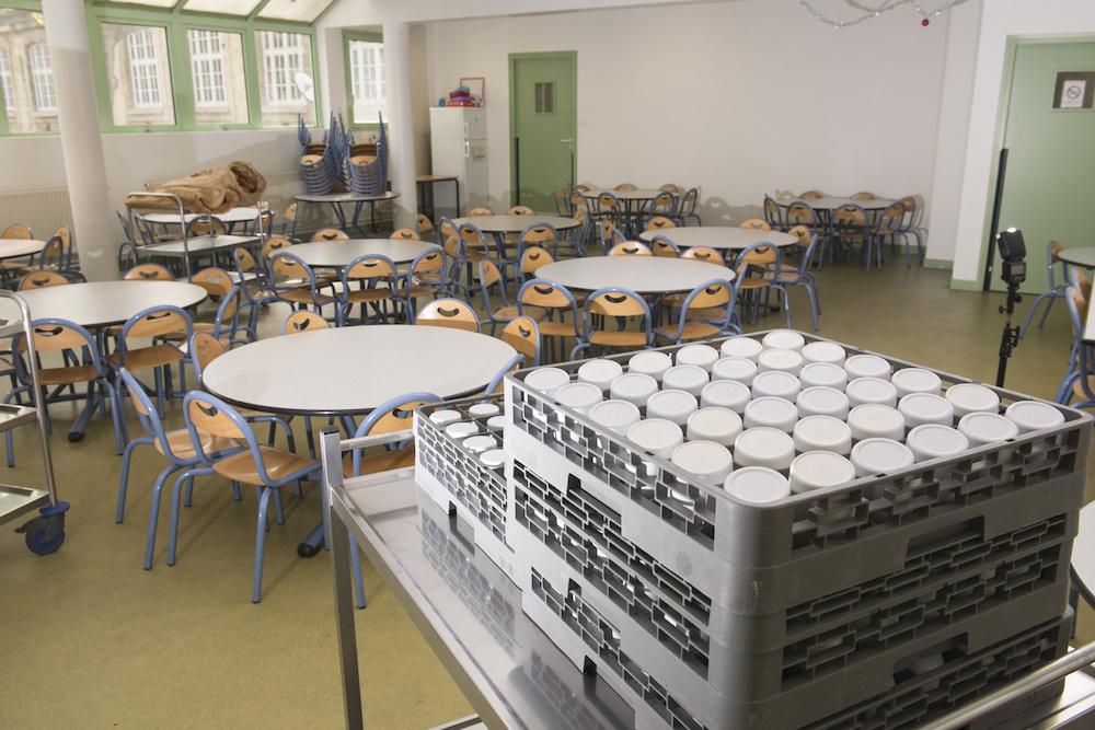 consumo de frutas y verduras en los colegios